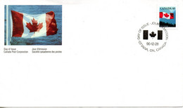 CANADA. N°1168 De 1990 Sur Enveloppe 1er Jour.  Drapeau. - Briefe