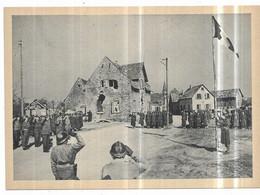 Première Armée Française Scheibenhardt 24 Mars 1945 Première Cérémonie Aux Couleurs En Territoire Allemand - Weltkrieg 1939-45