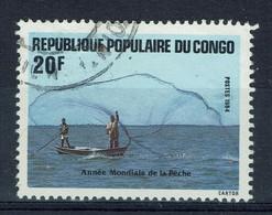 Congo (Brazzaville), 20f, Année Mondiale De La Pêche, 1984, Obl TB - Used