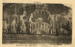 DAMAS - Mosquée Des Omeyades - Mosaïques (VIIIe Siècle) - Syria