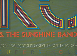 DISCO LP: KC AND THE SUNSHINE BAND Youd Gimme Some More - Unclassified