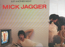 DISCO LP: MICK JAGGER Just Another Night - Unclassified