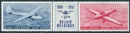 PA26/PA27 * Spoor Van Plakker - Drieluik - Airmail