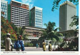 Nigeria - Skyscraper In Modern Lagos - Printed And Published Republic Of Ireland - Nigeria