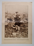 JAPAN - TOKIO - Le Facteur  Embarassé - Postman Trembelement De Terre 1923. Illustration - Correos & Carteros