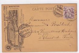 Bienne - Manufacture De Montres Louis Brandt & Frères - Précurseur - 1896 !!         (P-328-10114) - BE Berne