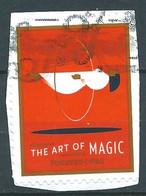 VEREINIGTE STAATEN ETATS UNIS USA 2018 THE ART OF MAGIC: HEADGEAR F USED ON PAPER SC 5303 MI 5522 YT 5141 - Usados