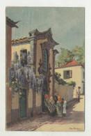 FUNCHAL, Madeira - Capela Privada Na Rua Da Carreira, Ilustração, MAX ROMER  (2 Scans) - Madeira