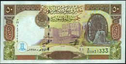 ♛ SYRIA - 50 Pounds 1998 UNC P.107 - Siria