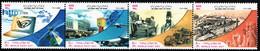 Iran - 2003 - World Post Day - Mint Stamp Set (se-tenant Strip) - Iran
