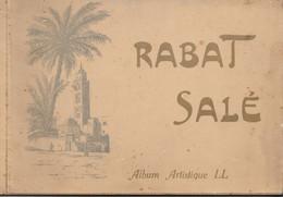 RABAT - SALE  Album Artistique De 16 Photos - Géographie