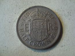 MONNAIE GRANDE BRETAGNE 1/2 CROWN 1960 - K. 1/2 Crown