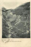 Dep 74 - St - Saint Gervais Les Bains - Entrée Des Gorges De La Gruvaz - Bon état Général - Saint-Gervais-les-Bains