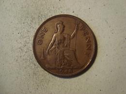 MONNAIE GRANDE BRETAGNE 1 PENNY 1948 - D. 1 Penny