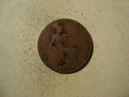MONNAIE GRANDE BRETAGNE 1/2 PENNY 1920 - D. 1 Penny