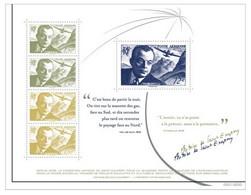 BLOC FEUILLET ANTOINE DE SAINT EXUPERY BIENNALE PHILATÉLIQUE 2021 TIRAGE 8000 EX - Used Stamps