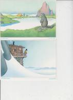 ILLUSTRATEUR  -  SAMIVEL  -  LOT DE 12 CARTES  -  Dimension :  17 X 12  - - 5 - 99 Postcards