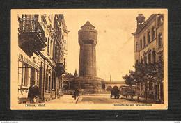 2.80€ : ALL - DÜREN - Düren, Rhld. - Kölnstrasse Mit Wasserturm - 1923 - Non Classés