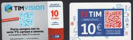 Italia Tim Telekom 2 Prepagata PrePaid 10 QR Code SCD00098 - [2] Sim Cards, Prepaid & Refills