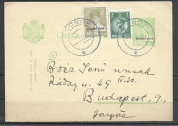 """Romania, St. Card Mihai. Overstamped """"8 Iune 1930"""", Mailed In 1931. - Entiers Postaux"""