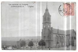 Les Environs De Longwy Longlaville L' église Edition Artistique V. Kremer, Longwy-Haut (Plaques Guilleminot) - Sonstige Gemeinden