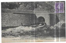 Barrage Du Chavanon, Près Cellette Galerie De Dérivation Des Eaux Edition H. Puech, Photo, Ussel - Ohne Zuordnung