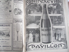 ILL 07/ CONTREXEVILLE /MICHELIN O GALOP /BRASIER/ GARIBALDI /MAROC BOU AMAMA /DIRIGEABLE PATRIE /MONT BLANC ALPINISME - 1900 - 1949