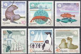 POLSKA - 1987 - Serie Completa Usata: Yvert 2886/2891, 6 Valori, Come Da Immagine. - Usados