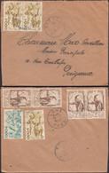 Afrique-Occidentale Française - Air Mail Cover, Sokodé, TOGO (AOF) 13.2.1951 - Périgueux. - Covers & Documents