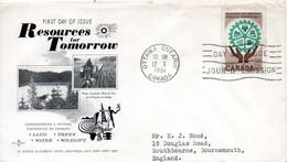 CANADA. N°322 Sur Enveloppe 1er Jour (FDC) De 1961. Ressources Renouvelables. - Environment & Climate Protection
