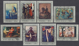 POLSKA - 1968 - Serie Completa Usata: Yvert 1714/1721, 8 Valori, Come Da Immagine. - Usados