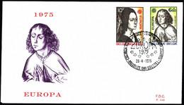 Belgium FDC 1975 Mi 1818-1819 Europa (C.E.P.T.) - 1971-80