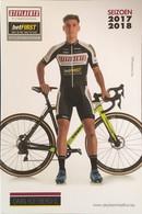 Postcard Daan Hoeyberghs - Steylaerts-betFIRST - 2017/2018 - Ciclismo
