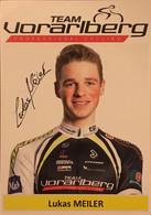 Postcard - Lukas Meiler - Team Vorarlberg - 2015 - Ciclismo