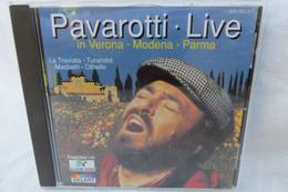 """CD """"Pavarotti"""" Live In Verona, Modena, Parma, La Traviata, Turandot, Macbeth, Othello - Opere"""