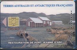 TAAF Télécarte TAAF36 Superbe Sans Logo Bull - TAAF - Territorios Australes Franceses