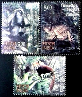 INDIA 2009 Rare Fauna Of The North East COMPLETE SET MNH - Brieven En Documenten