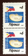 Philippines 1997 National Symbols Pearls Pair MNH - Filippijnen