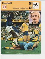 Fiche Foot Ronnie Hellström Suède  FICH-Football-2 - Deportes