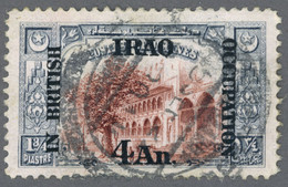 IRAK 1918 British Occupation Yt IQ 32 Fountains Of Suleiman, Istanbul Bosphorus, Turkey / Used-Hinged - Irak