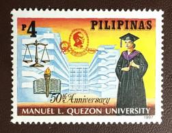 Philippines 1997 Quezon University MNH - Filippijnen