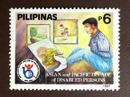 Philippines 1997 Disabled Persons Decade MNH - Filippijnen