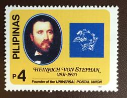 Philippines 1997 Von Stephan Anniversary MNH - Filippijnen