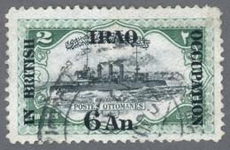 "IRAK 1918 British Occupation Yt IQ 33 Light Cruiser""Hamidiye"", Ottoman Navy, Balkan Wars, WW1,Turkey / Used-Hinged - Irak"