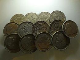 Russia Lot 13 Coins 1 Rouble Bad Grade - Alla Rinfusa - Monete