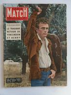 PARIS MATCH N° 416 En 1957 JAMES DEAN ERIC VON STROHEIM SOPHIA LOREN MASTROIANNI - Cinéma/Télévision