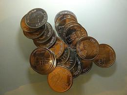 Jordan Lot 20 Coins 5 Piastres BU - Alla Rinfusa - Monete