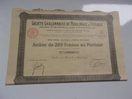 CHALONNAISE DE MOULINAGE & TISSAGE (aube & Saives-rigollet) Saone Et Loire - Sin Clasificación