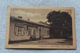 Cpa 1920, Casekow, Schlachterei U Gastwirtschaft, Allemagne - Andere