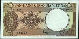 ♛ VIETNAM SOUTH - 1 Dong Nd.(1964) {Ngân-Hàng Quốc-Gia Việt-Nam} AU-UNC P.15 - Vietnam